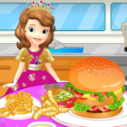 Sofia İlk Hamburger